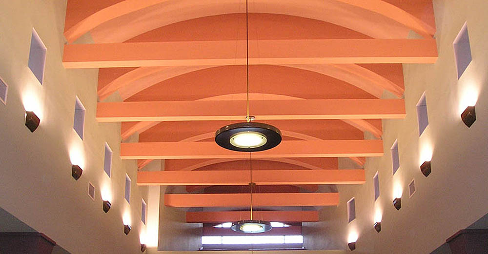 Benton Library Interior Ceiling